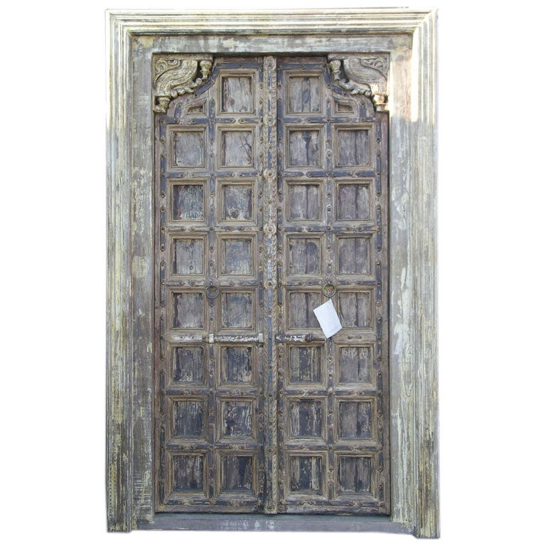 antique door and frame at 1stdibs