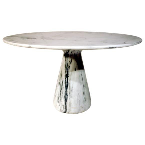 Modern Round Pedestal Dining Table round pedestal dining tableangelo mangiarotti for tisettanta