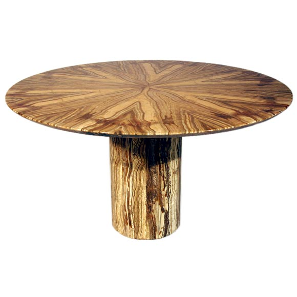 Round Marble Dining Table At 1stdibs