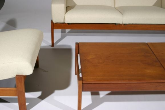 modular danish modern living room suite in teak at 1stdibs