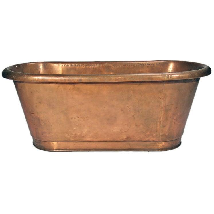 Antique german copper bath tub at 1stdibs for Waterworks copper tub