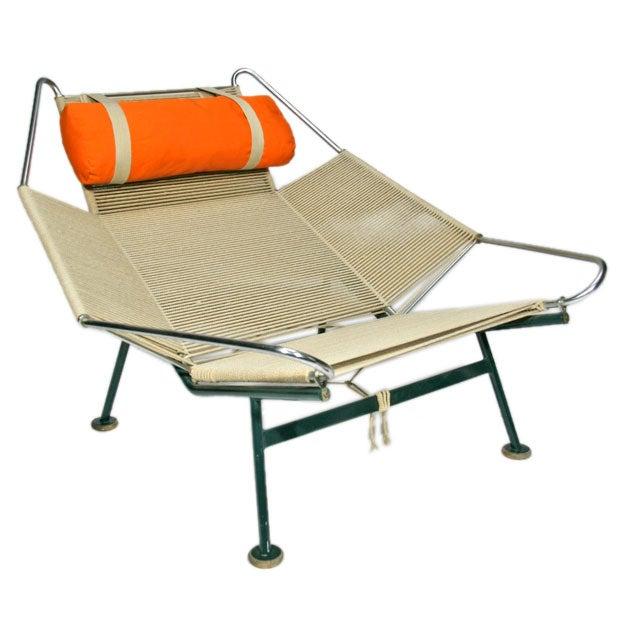 "Hans Wegner "" Flag Line "" Halyard Lounge Chair"
