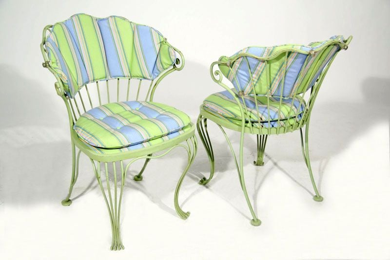 Rococo style outdoor set by Woodard image 3