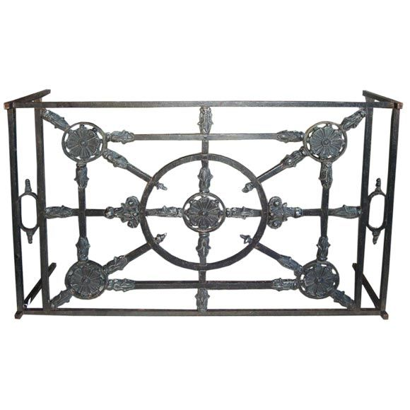 Cast Iron Coffee Table At 1stdibs