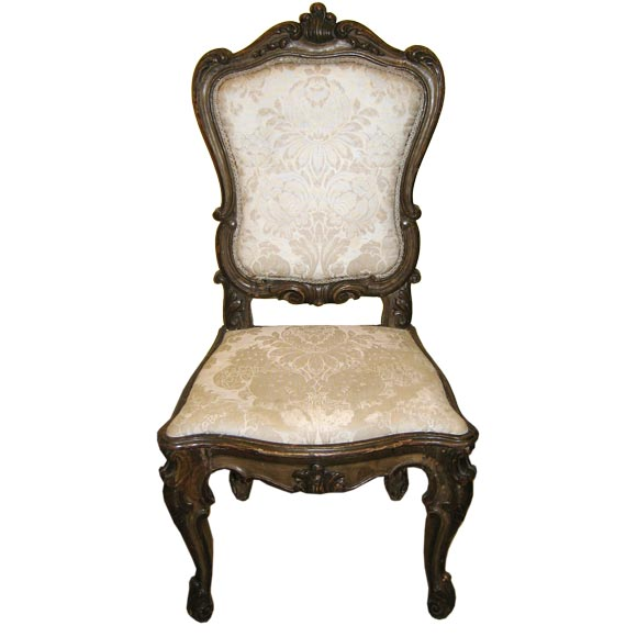 Marvelous 18TH CENTURY VENETIAN CHAIR At 1stdibs