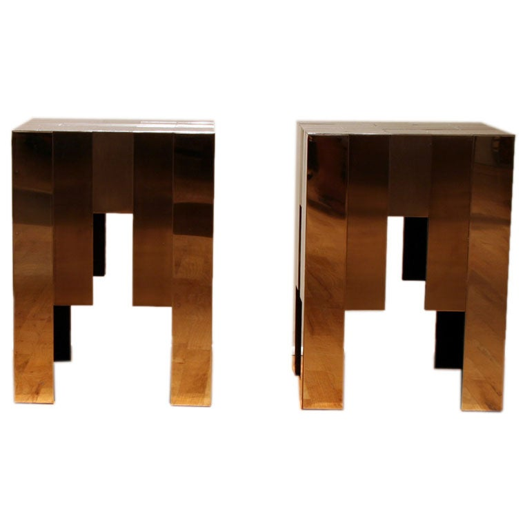 Retailed by Carl - Pair of Side Tables / Retailed by Carl