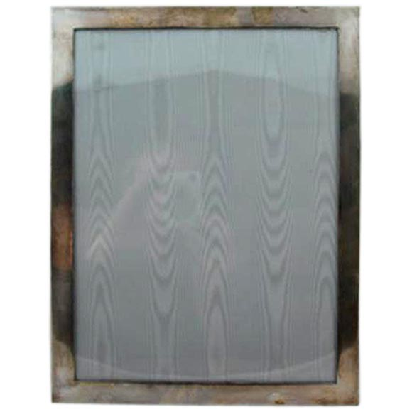 A Large Sterling Silver Picture Frame By Tiffany For Sale At 1stdibs
