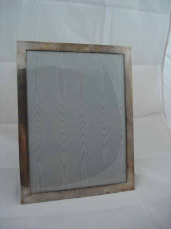 a large sterling silver picture frame by tiffany 2