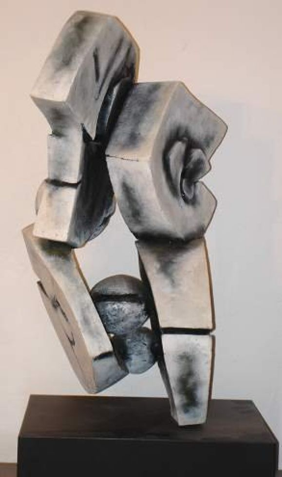 Abstract Expressionist Sculpture by Grace Pologe In Excellent Condition For Sale In NYC, NY