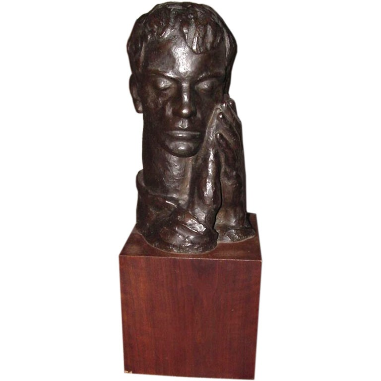 Large Bronze Sculpture by Irma Rothstein