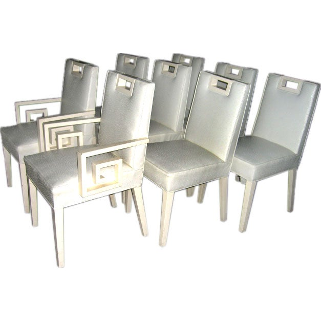 AMAZING CUSTOM TOMMI PARZINGER DINING CHAIRS At 1stdibs