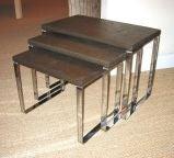 Milo Baughman Nesting Tables