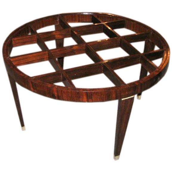 Rare And Important Gio Ponti Palissander Lattice Coffee Table At 1stdibs