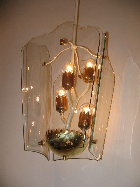 gio ponti and p chiesa for fontana arte a rare chandelier. Black Bedroom Furniture Sets. Home Design Ideas