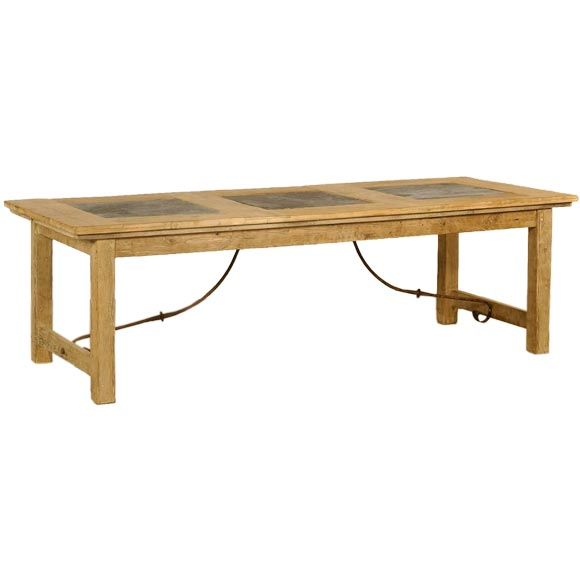 slate top dining table at 1stdibs