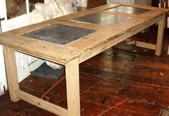 slate top dining table image 2