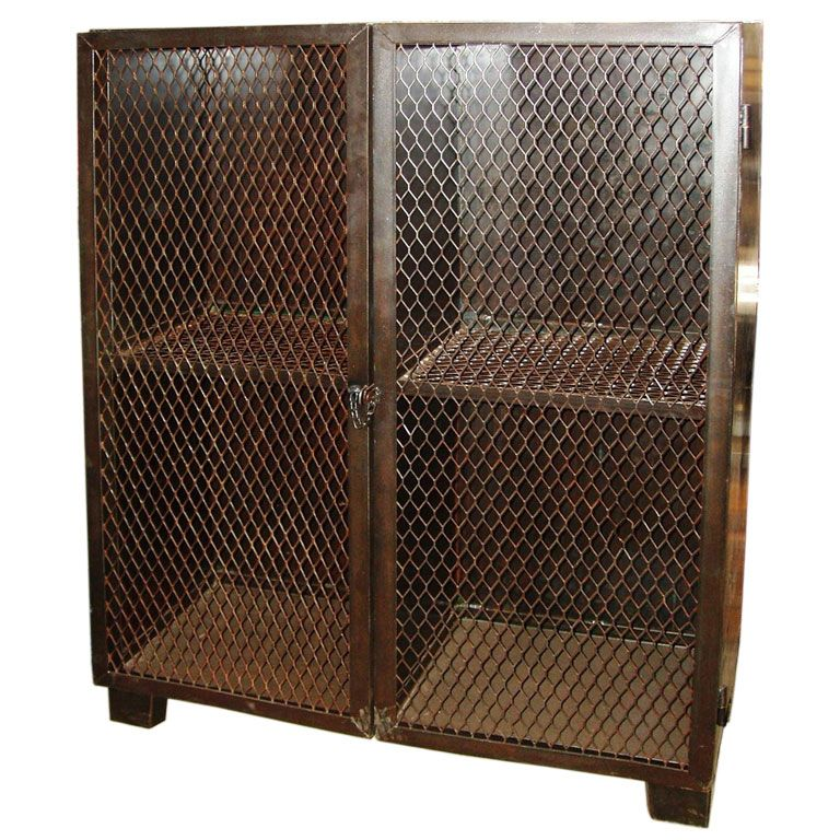 Industrial Storage Cabinet At 1stdibs