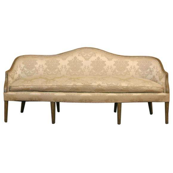 French Style Salon Sofa At 1stdibs