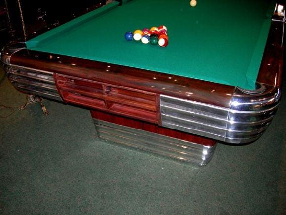 Art Deco Brunswick Centennial Pool Table At 1stdibs