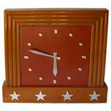 Mid Century Bank Wall Clock