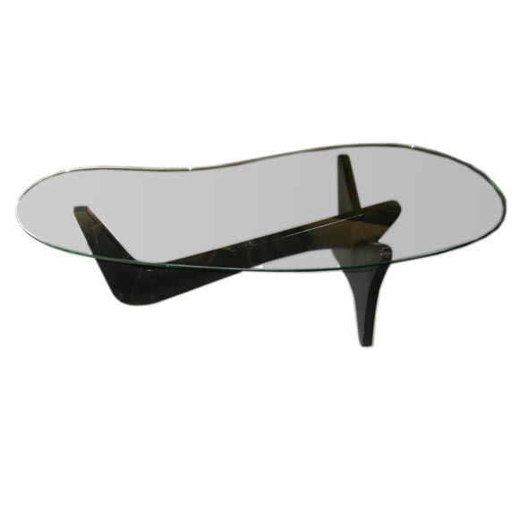 Noguchi Style Freeform Coffee Table At 1stdibs