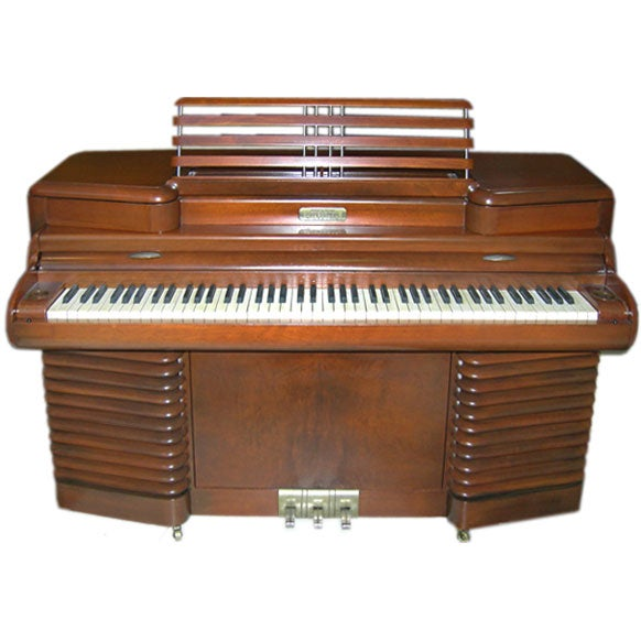rca storytone art deco piano john vassos design at 1stdibs. Black Bedroom Furniture Sets. Home Design Ideas