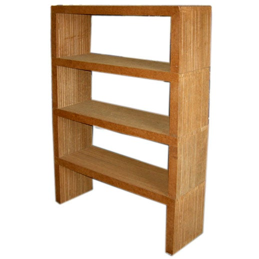 Frank Gehry Easy Edges Modular Bookcase Coffee Table At 1stdibs