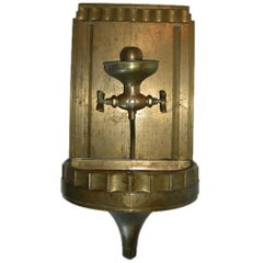 Solid Bronze Art Deco Drinking Fountain