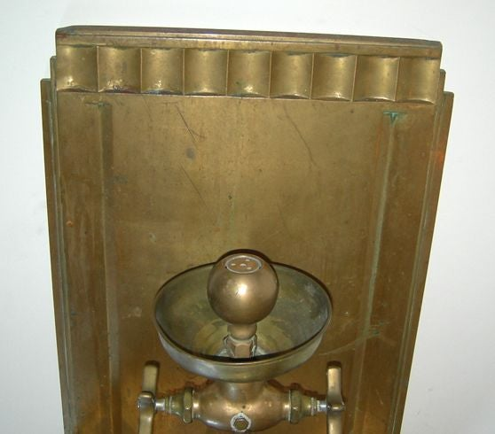 Solid Bronze Art Deco Drinking Fountain 5