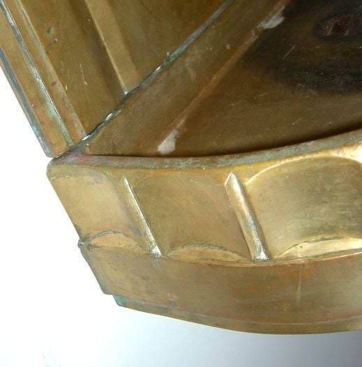 Solid Bronze Art Deco Drinking Fountain 6