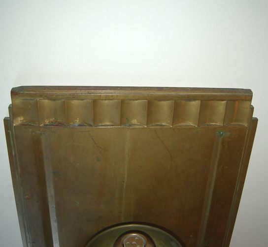 Solid Bronze Art Deco Drinking Fountain 9