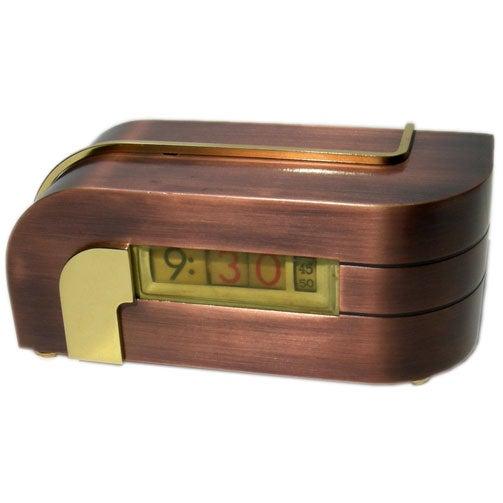Kem Weber Designed Streamlined Zephyr Clock At 1stdibs
