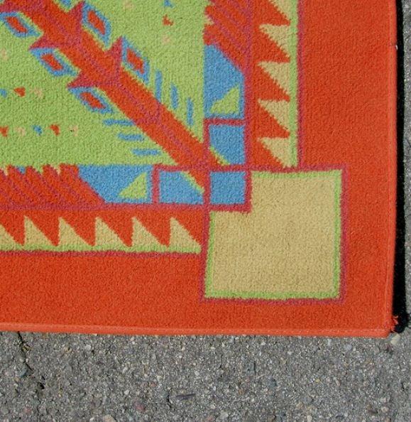 Arizona biltmore rug taliesin frank lloyd wright design at 1stdibs - Frank lloyd wright rugs ...