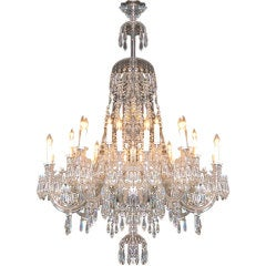 24-Light Grand Italian Crystal Chandelier