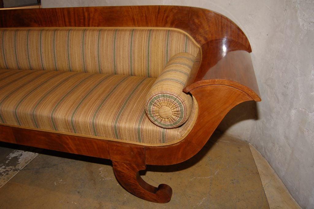 Mahogany Biedermeier Swedish Sofa At 1stdibs