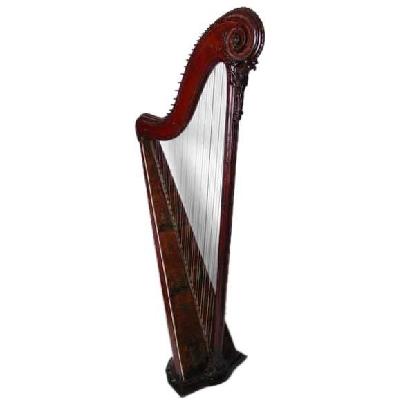 Cousineau harp, 18th century