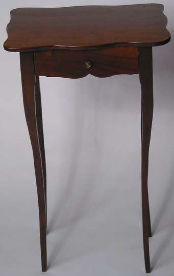 19th c walnut top beech wood base table at 1stdibs for Th 37px60b table top stand