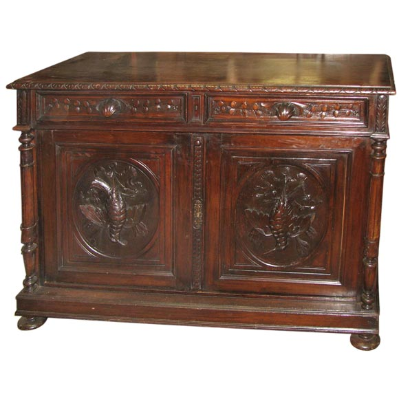 19th century italian buffet with elaborate carving at 1stdibs for Italian buffet