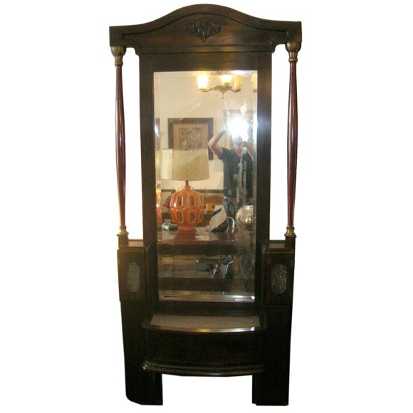 French large self standing mirror at 1stdibs for Large standing mirror