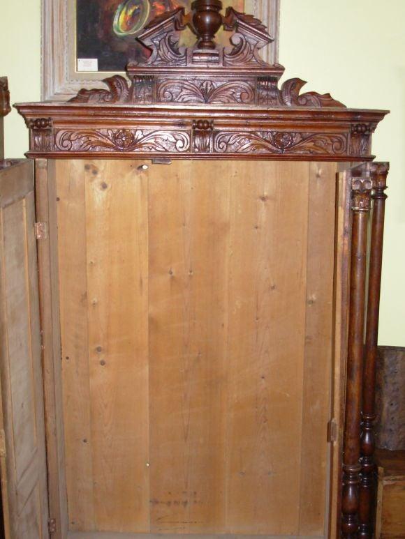 ARMADIO VENEZIANO 1880 s WALNUT ( armoire) at 1stdibs