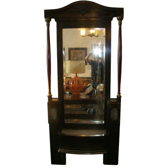 French large self standing mirror for sale at 1stdibs for Large standing mirror