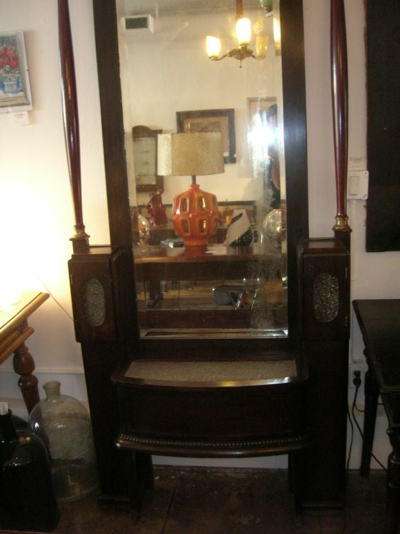 French Empire Large Self Standing Mirror 3