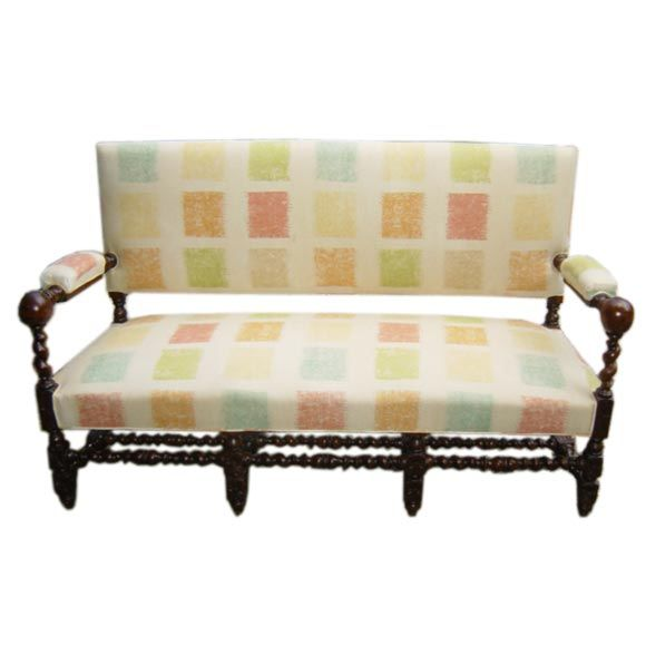 Louis xiv style settee at 1stdibs - Louis xiv sofa ...