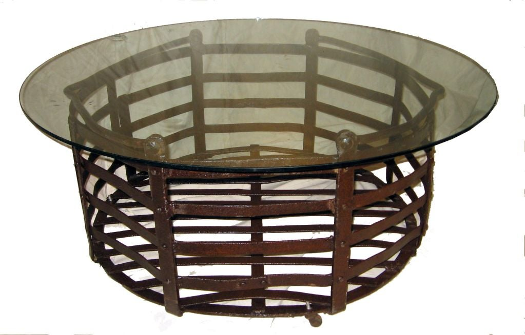 Coffee table baskets