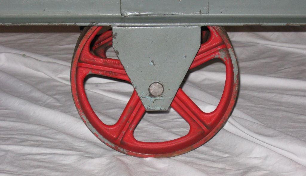 Industrial Torpedo Cart Kitchen Center Island Console At
