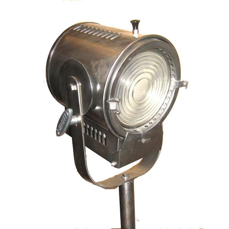 Cool Theatrical Lamp Floor Lamp At 1stdibs