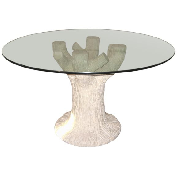 Plaster quotTree Trunkquot Table at 1stdibs : 1292973 from www.1stdibs.com size 580 x 580 jpeg 17kB