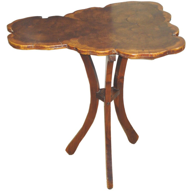 Tree form side table at stdibs