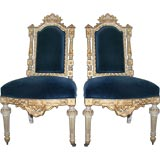 Pair of French Louis XVI Chairs