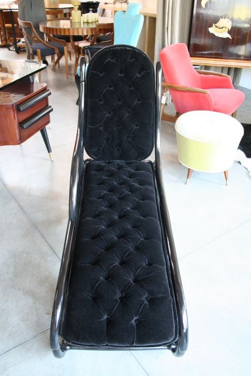 thonet chaise longue at 1stdibs. Black Bedroom Furniture Sets. Home Design Ideas